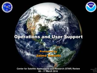 Operations and User Support