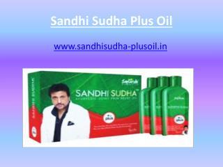 Sandhi sudha plus oil, sandhi sudha oil,