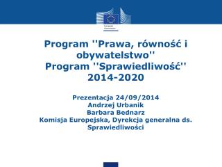 ''Stare'' programy finansowe  2007-2013