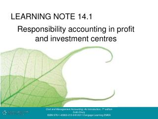 LEARNING NOTE 14.1