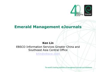 Emerald Management eJournals
