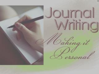 An Effective Journal Writing Topics and Ideas