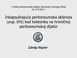 Zdenka Majster