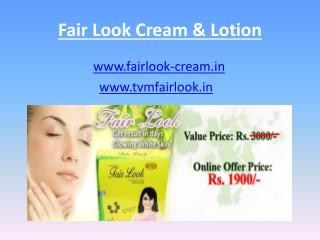 Fair look gold cream