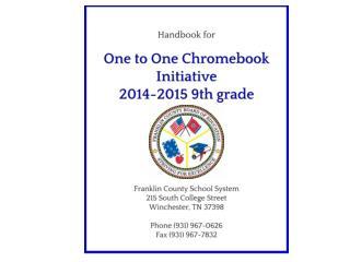 Franklin County School Board  Goal for Technology: