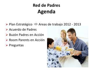 Red de Padres Agenda