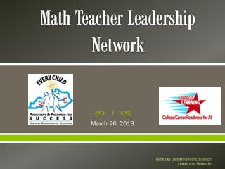 Math Teacher Leadership Network