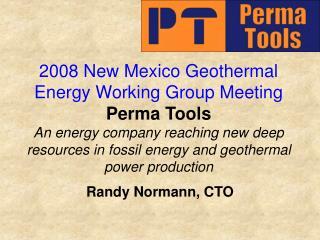 Randy Normann, CTO