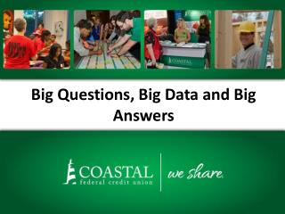 Big Questions, Big Data and Big Answers