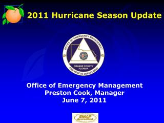 2011 Hurricane Season Update