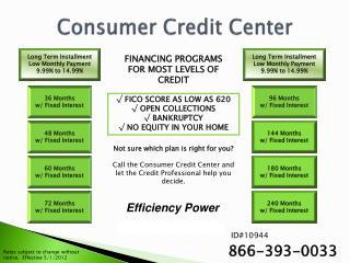 Consumer Credit Center