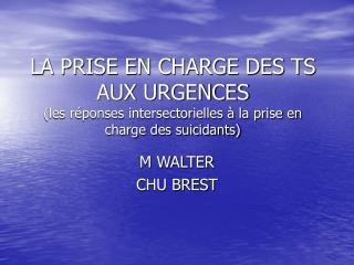 M WALTER CHU BREST