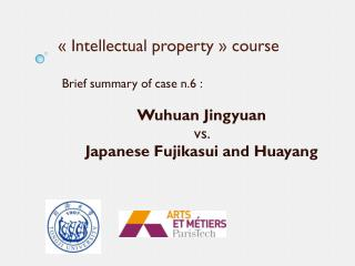 « Intellectual property » course