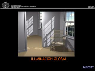 ILUMINACION GLOBAL