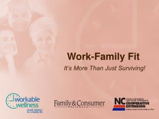 Work-Family Fit