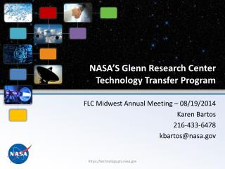 NASA�S Glenn Research Center Technology Transfer Program