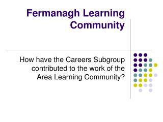 Fermanagh Learning  Community
