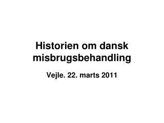 Historien om dansk misbrugsbehandling