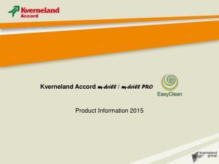 Kverneland Accord  m-drill  /  m-drill PRO