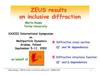 ZEUS results  on inclusive diffraction