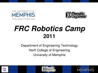 FRC Robotics Camp 2011