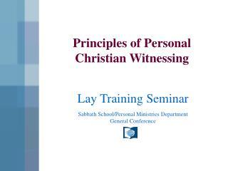 Sabbath School/Personal Ministries Department General Conference