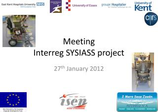 Meeting Interreg SYSIASS project