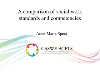 A comparison of social work standards and competencies