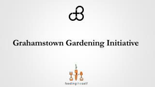 Grahamstown Gardening Initiative