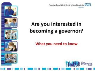 A re you interested in becoming a governor? What you need to know