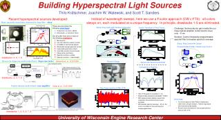Building Hyperspectral Light Sources