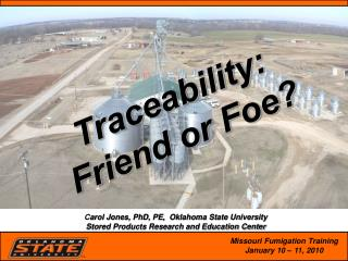 Traceability:  Friend or Foe?