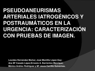 Lourdes Hernández Muñoz; José Montilla López-Gay;