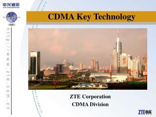 CDMA Key Technology