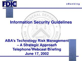 Information Security Guidelines