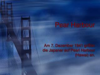 Pear Harbour