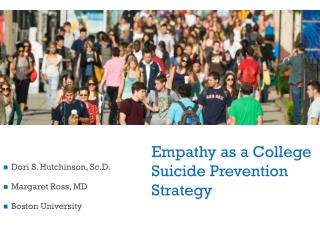 Empathy as a College Suicide Prevention Strategy