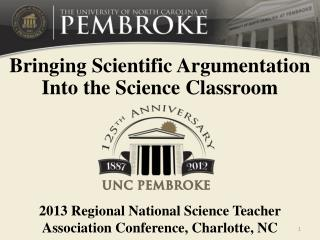 Bringing Scientific Argumentation Into the Science Classroom