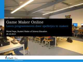 Game Maker Online