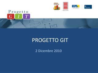 PROGETTO GIT