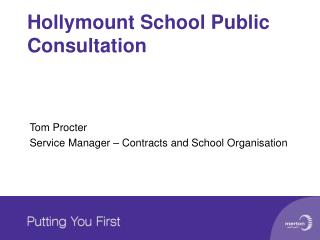 Hollymount School Public Consultation