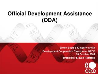 Official Development Assistance (ODA)