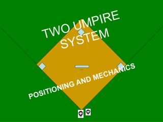 TWO UMPIRE SYSTEM
