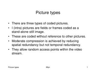 Picture types
