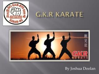 G.K.R Karate
