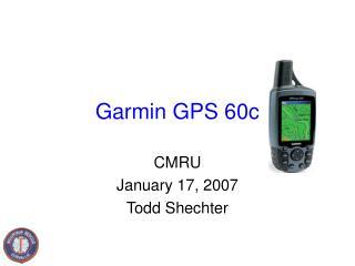 Garmin GPS 60c