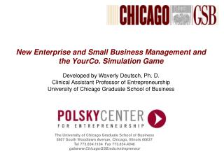 The University of Chicago Graduate School of Business