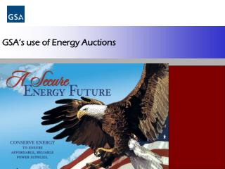 GSA's use of Energy Auctions