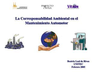 La Corresponsabilidad Ambiental en el Mantenimiento Automotor