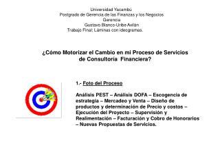 Universidad Yacambú  Postgrado de Gerencia de las Finanzas y los Negocios Gerencia